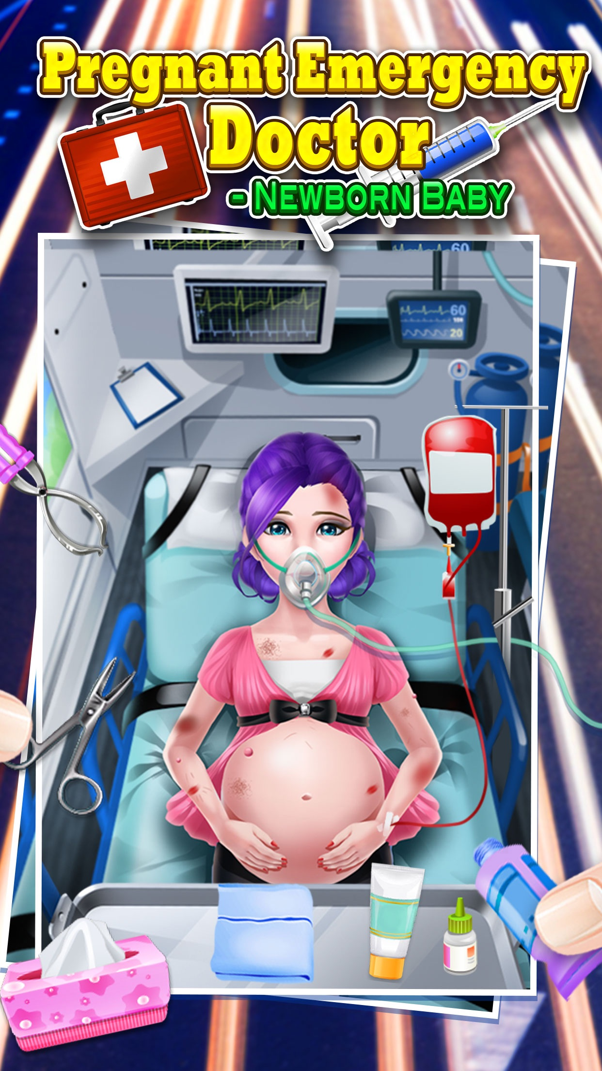 Pregnant Emergency Doctor - Kids Games Screenshot