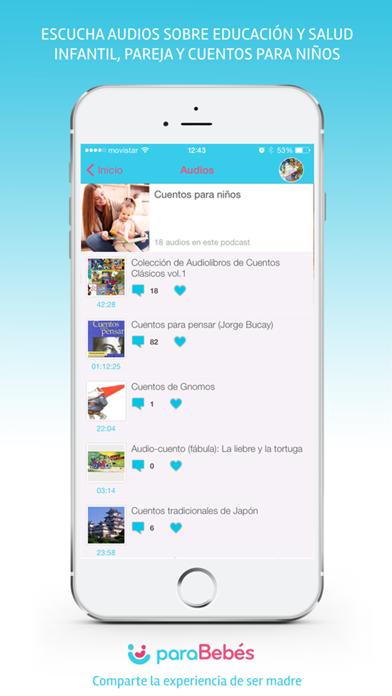 paraBebés Audios Screenshot