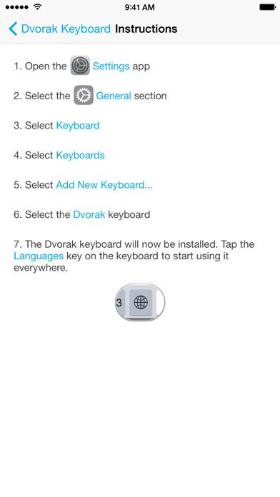 Dvorak Keyboard Layoutのおすすめ画像4