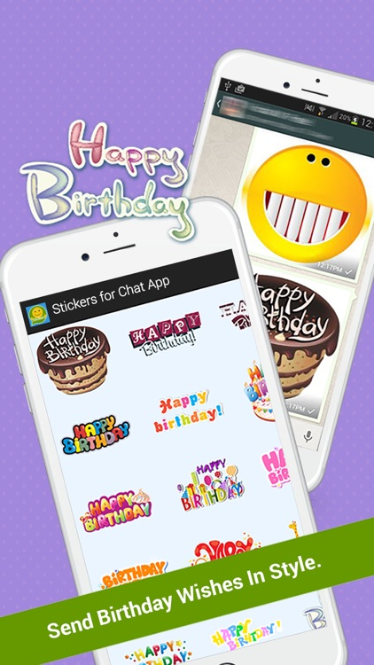 Free Stickers for Chat  App screenshot-3