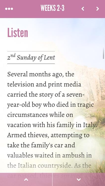 Lectio Divina - Lent