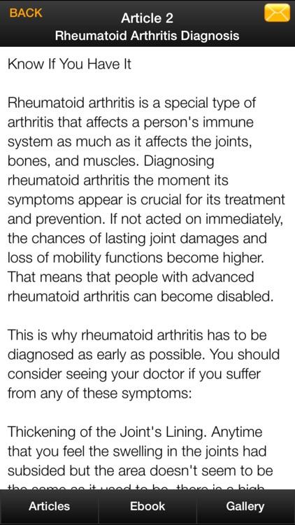 Rheumatoid Arthritis Guide - How To Relief Rheumatoid Arthritis Naturally screenshot-4