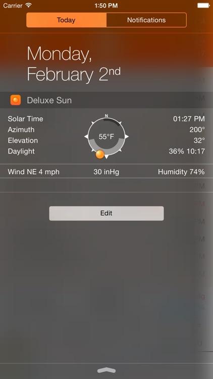 Deluxe Sun - sunrise, sunset, twilight and compass screenshot-4