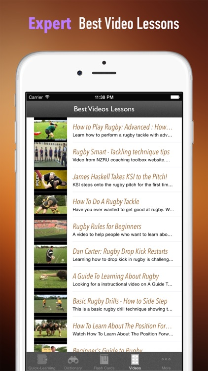 Rugby 101: Quick Learning Reference with Video Lessons and Glossary screenshot-4