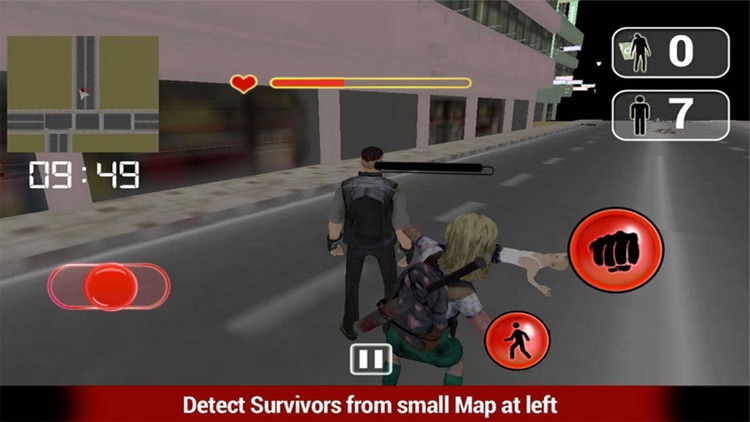 Zombies Hand Fight 3D - Monster Village version