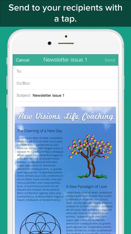 Email Master for iOS - Rich text & image e-mail designer screenshot-3