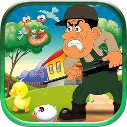 A Farmer Ranger Attack - Barn Animals Shooting Madness