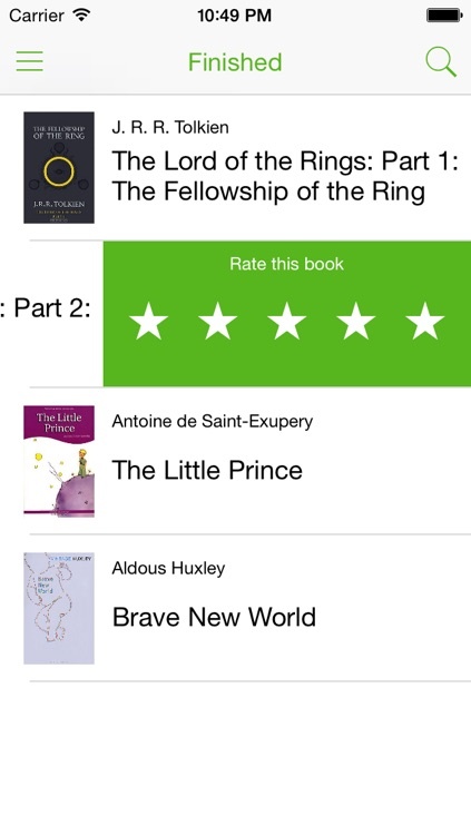 Reading List app screenshot-2
