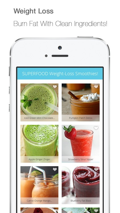 FREE Healthy Detox Smoothies, Protien Shakes & Clean Vegetarian Juice Recipes screenshot-3