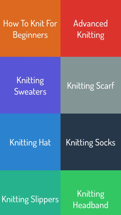 How To Knit - Complete Video Guide screenshot-0