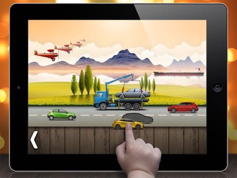 Скачать На дороге - головоломки для малышей и детей