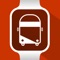 Check when your next bus will arrive at your closest stop with just a quick look at your Apple Watch or your iPhone