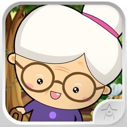 Ninja Granny angry granma against crime