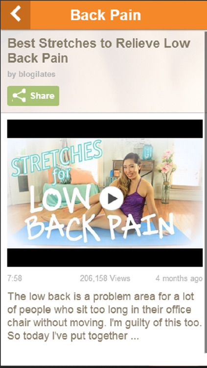 Back Pain Relief - Learn How To Relieve Back Pain Easily screenshot-3