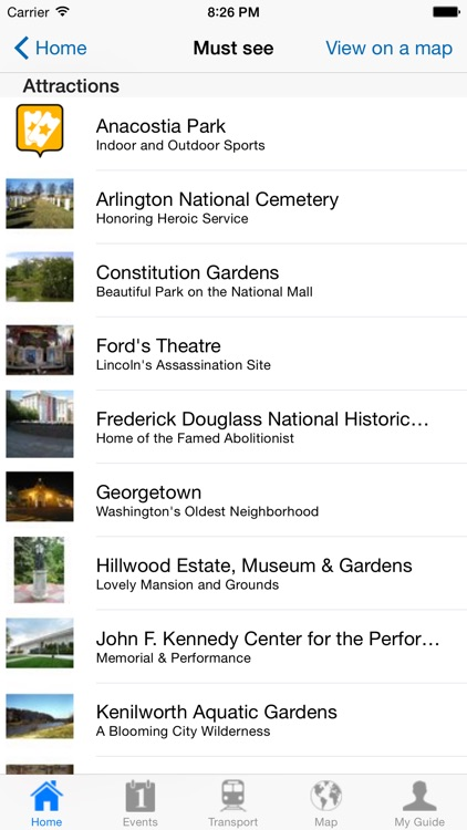Washington DC Travel Guide Offline screenshot-3