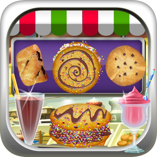 Bakery Milkshake Cookie Food Maker - fair dessert fun game for kids, boys, and girls