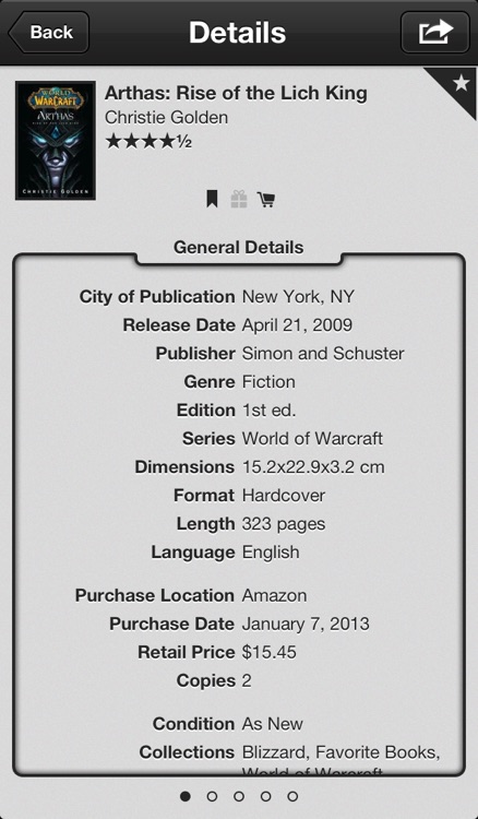 The Bookcase - Book Cataloging App screenshot-2