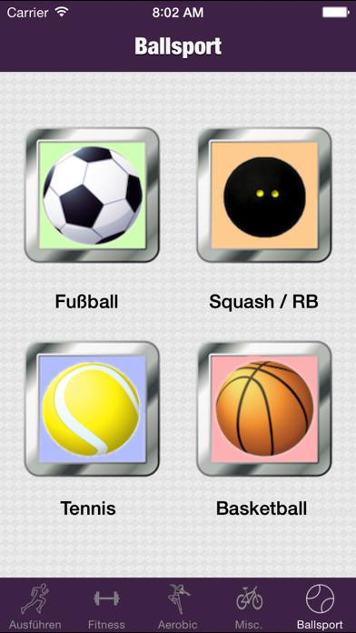 Sport KalorienrechnerScreenshot von 3