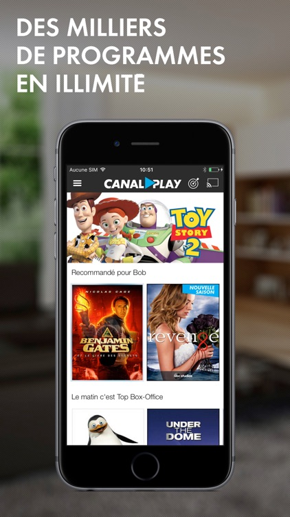 CANALPLAY, Films, séries et dessins animés en streaming et téléchargement screenshot-0