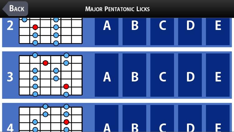 25 Major Pentatonic Licks with Joseph Alexander screenshot-4