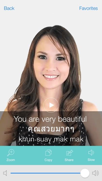 Thai Pretati - Translate, Learn and Speak Thai with Video screenshot-4