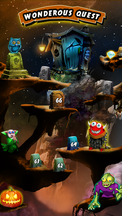 Zombie Party: Halloween Dozer screenshot two