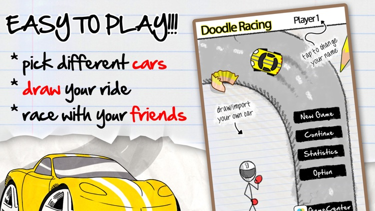 A Doodle Racing Top Best Draw, Paint, Scribble, Sketch, Take A Photo ...