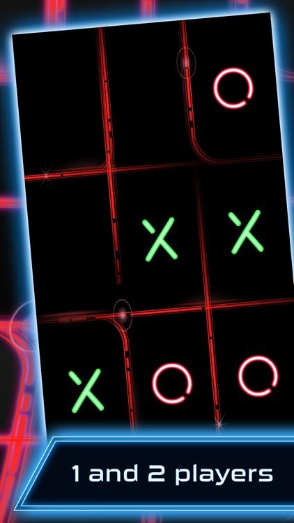 Tic Tac Toe Glow FREE