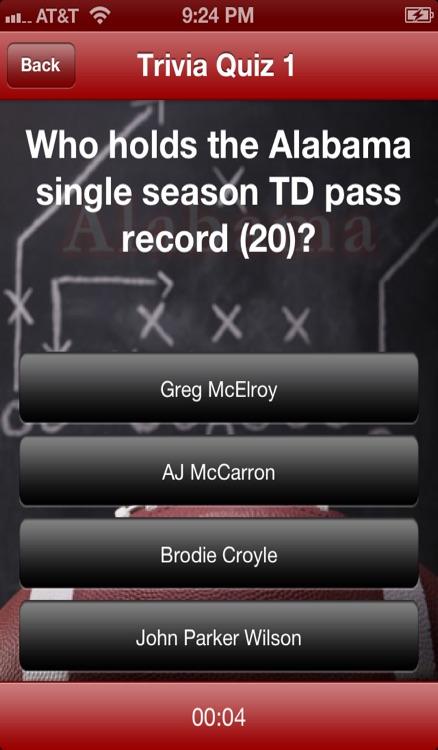 Alabama Football - Crimson Tide News, Schedule, Scores, and Trivia screenshot-3