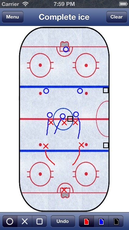 Hockey Strategy Board screenshot-1