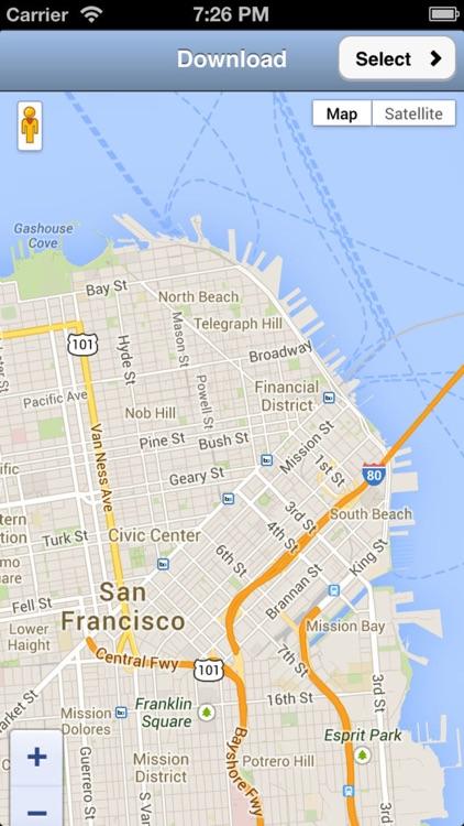 Offline Map App screenshot-0