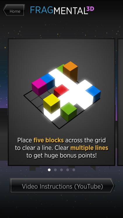 Fragmental 3D - Build Lines with Falling Blocks! screenshot-4