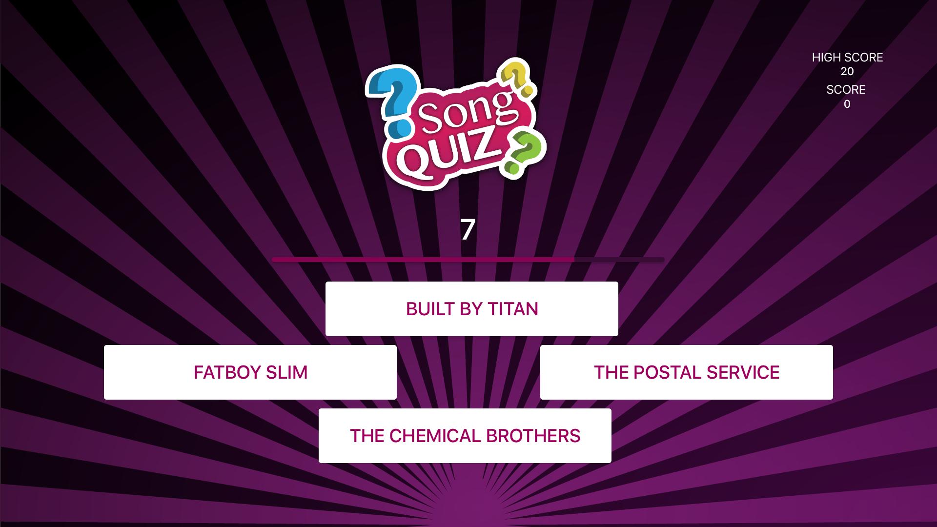 Song Quiz - Guess songs screenshot 11