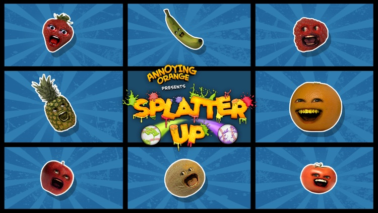 Annoying Orange: Splatter Up Free! screenshot-4