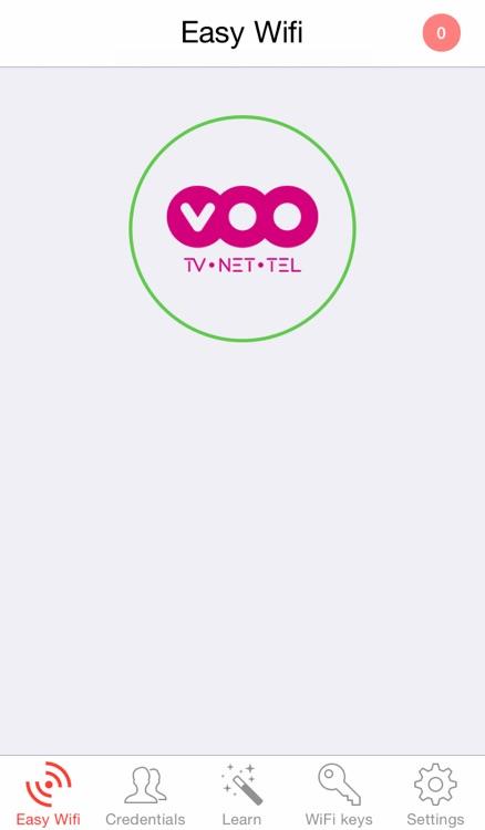 Easy Wifi : automatic connection hotspots fon zon belgacom telenet voo freewifi sfr orange and iCloud sync screenshot-3