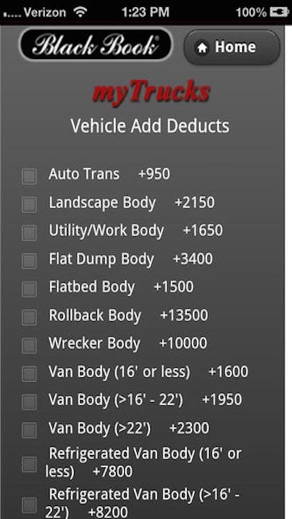 Truck Values