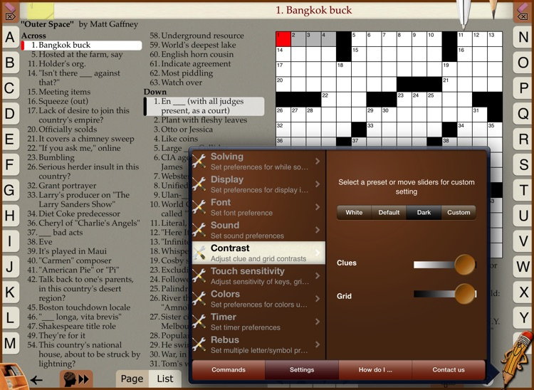 Across Lite Crosswords screenshot-3