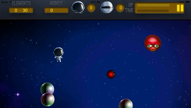 A Floating Dude In Space - Collect and Dodge screenshot-4