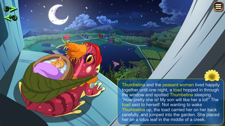 thumbelina story book for ipad by tze wing ming