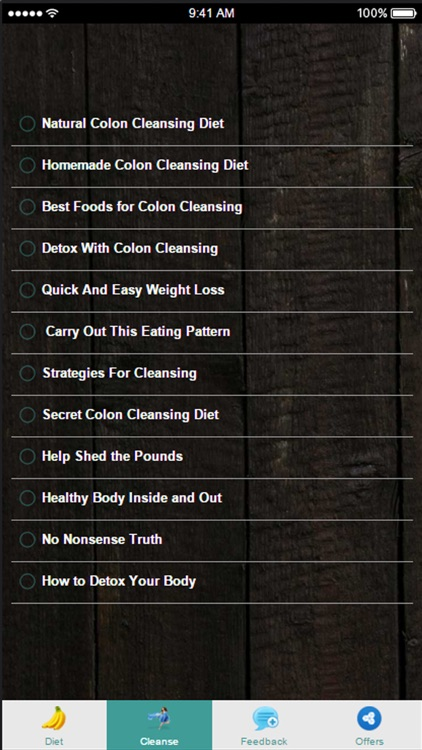 Colon Cleanse Diet - Best Foods for Colon Cleansing
