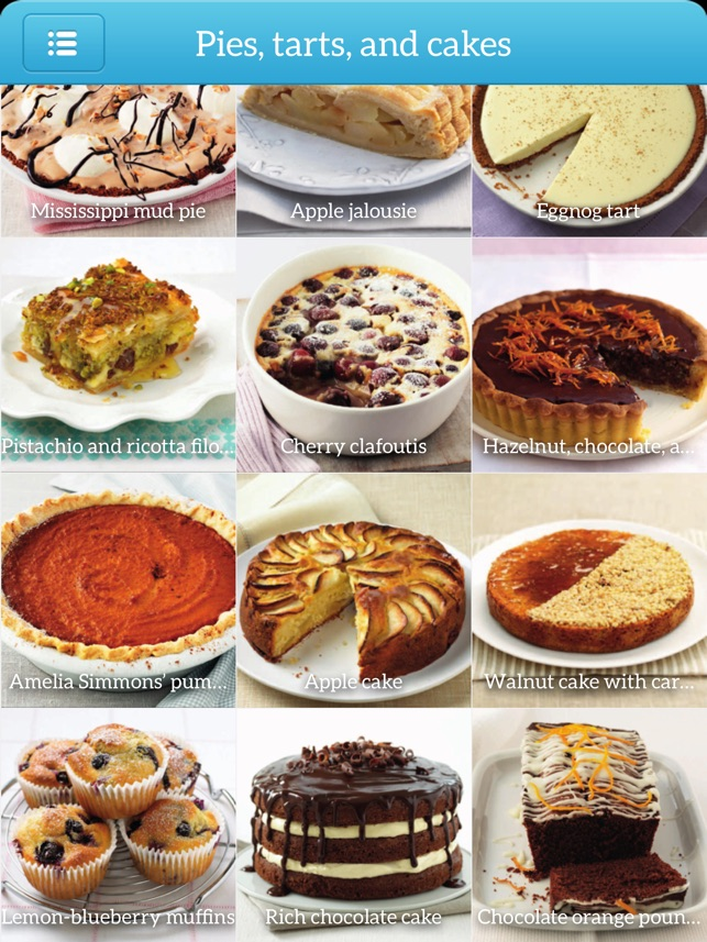 Baking recipes step by step bundle for ipad en app store capturas de pantalla del ipad forumfinder Choice Image