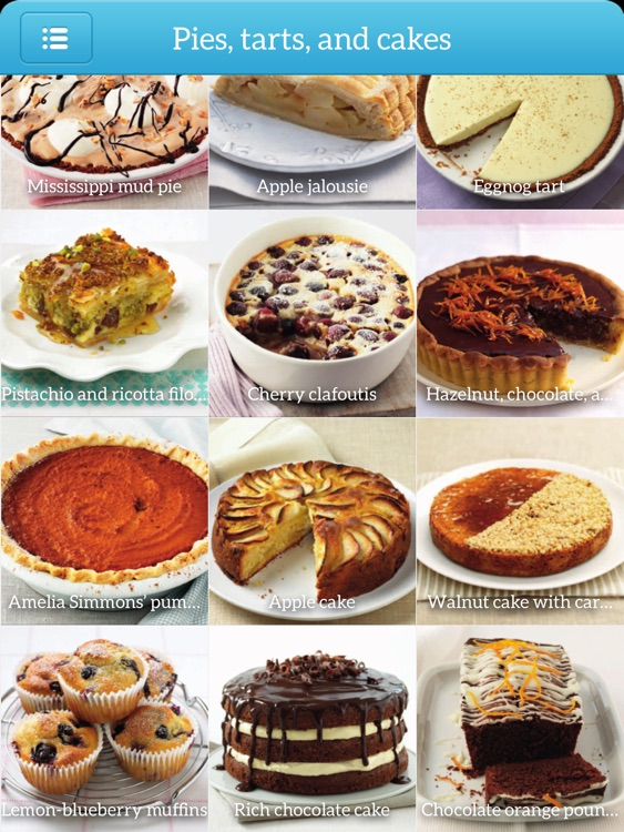 Dessert Recipes - Step by Step for iPad
