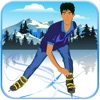アイススケーターの無料ゲームをトラップ