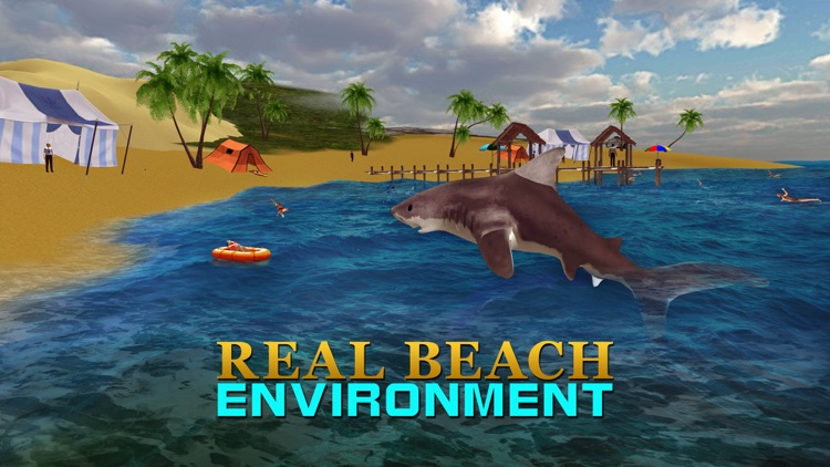 Angry Shark Attack Simulator – Killer predator simulation game screenshot-3
