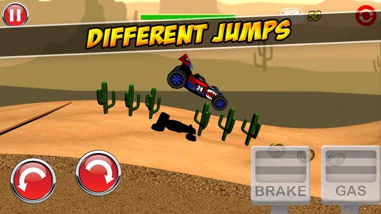 Ultimate 3D Extreme Monster Trucks Hill Climbing Game screenshot-3