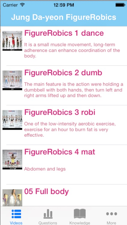 Jung Da-yeon FigureRobics,Fitness for Weight Loss,30 Day Workout,Exercise Challenge,International Edition screenshot-2
