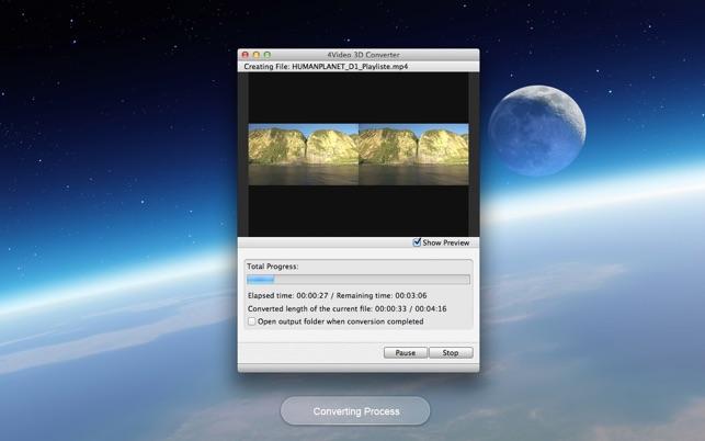 4Video 3D Converter - 2D > 3D Screenshot