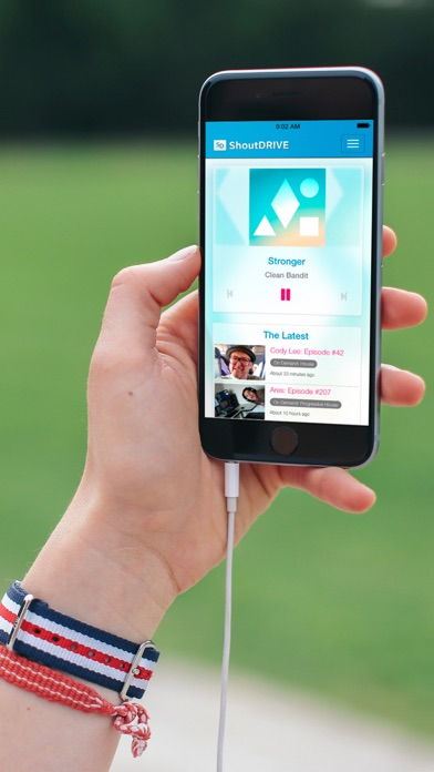 Mobile & Smart TV Apps | ShoutDRIVE: Dance Music & EDM Audio Channel
