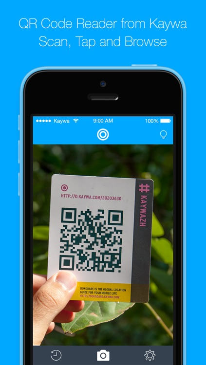 QR Code Reader from Kaywa - SCAN, TAP AND BROWSE