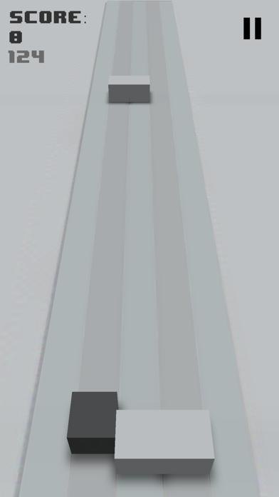 Grey Cube - Endless Barrier Runner screenshot three
